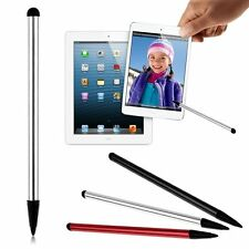 Universal 2 in 1 Capacitive Touch Screen Pen Stylus For Tablet PC Mobile Phone