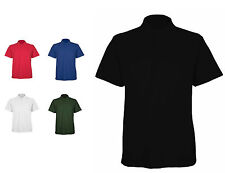 Mens Classic Polo T Shirts Size XS to 4XL BREATHABLE SPORTS WORK CASUAL UC-105