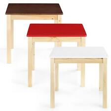 Kids Table Wooden Play Room Toddler Child Game Toy Dining Learning Activity Q0K9