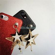 Luxury Bling Glitter Shine Crystal Star Strap Case Cover for iPhone 7 7 Plus 6S