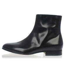 MARTIN MARGIELA MM22 New Man Leather Ankle Boots Shoes Booties Black NWT
