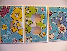 CARE BEARS - Switchplate Covers - Kids Room - Light Switch Electrical Outlet NEW