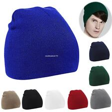New Fashion Unisex Women Men Beanie Hat Warm Winter Short Ski Knit Hat