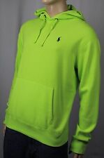 Polo Ralph Lauren Performance Neon Green Hoodie Sweatshirt NWT