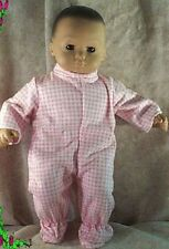 """Doll Clothes Baby fit American Girl Bitty 15"""" inch Stars Pink White NEW"""