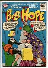 ADVENTURES OF BOB HOPE #40 1956-DC-SWAMI SCAM-BABE-vg
