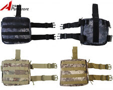 Tactical Hunting Molle Drop Leg Thigh Pouch Utility Magazine Mag Bag for Belt