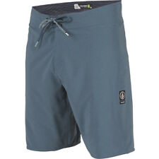 Volcom Lido Solid Mod 20in Mens Shorts Boardshorts - Airforce Blue All Sizes