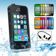 Case Cover Waterproof Tough Heavy Duty Hard for Mobile Apple iPhone 4S 4 4G New