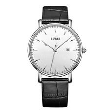 New Ultra-thin Quartz Watches 30M Water Resistant Steel Watch With Calendar D1L0