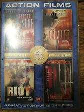 4 Action Films - Red Surf, Corrupt, Riot and Justice