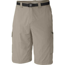 Columbia Silver Ridge Cargo Mens Shorts Walk - Fossil All Sizes