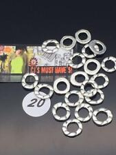 NEW 20 50 Tibetan Silver Style Donut Spacer Bead Link Charms JEWELLERY MAKING -