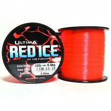 Ultima Red Ice Mono Fishing Line - 4oz RRP £8.99 - CLOSING DOWN CLEARANCE!!