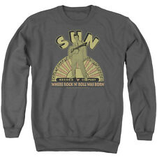 Sun Original Son Mens Crewneck Sweatshirt Charcoal