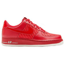 Nike Air Force 1 07 LV8 Red Men's Sneakers Shoes Sneakers Leather Low one NEW