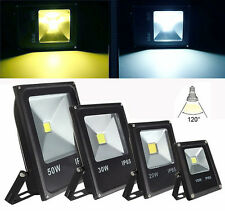 10/20/30/50W Led Outdoor Floodlight Waterproof IP65 lamp AC85-265V White/warm