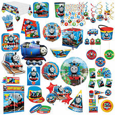 Thomas The Tank Engine All Aboard Children's Party Supplies Tableware Listing