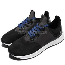 adidas Falcon Elite 5 M Black White Blue Men Running Shoes Sneakers BB4398