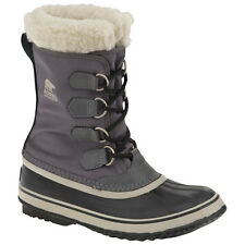 Sorel Winter Carnival Faux Fur Womens Boots - Pewter Black All Sizes