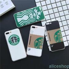 Trendy Starbucks Coffe Mug Cup Coffe Girl TPU Case Cover for iPhone 7 7 Plus 6S