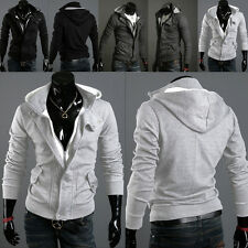 Mens Warm Hoodie Hooded Sweatshirt Sweater Tops Long Sleeve Jacket Coat Outwear