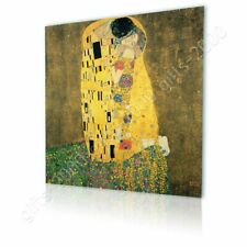 Alonline Art - CANVAS (Rolled) The Kiss Gustav Klimt Painting Artwork