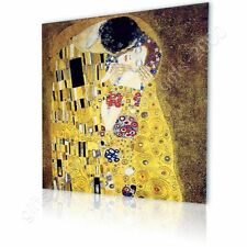 CANVAS (Rolled) The Kiss Gustav Klimt Oil Paint Paintings Canvas For Bedroom