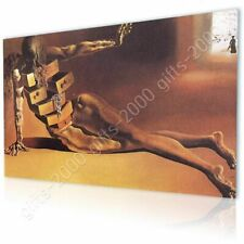 CANVAS (Rolled) Anthropomorphic Cabinet Salvador Dali Painting Art