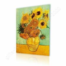 CANVAS (Rolled) Sunflowers Tournesols Vincent Van Gogh Oil Painting Print Art