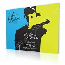CANVAS (Rolled) Justin Bieber Never Say Never Alonline Designs Art