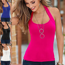 Fashion Sexy Womens Summer Vest Top Sleeveless T-Shirt Blouses Casual Tank Tops