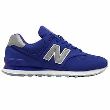 New Balance 574 Classic Traditionnels Blue Purple Men's Low Top Trainers