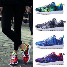 Mens Boys Womens Lace Up Fitness Sports Gym Running Trainers Sneakers Shoes