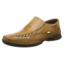 Rieker 07966-23 Loafers Brown Mens Slip On Summer Loafers