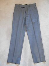 "M&S Collection Grey 100% Wool Trouser (NEW) Size W:81 (32"") cm  L:79 cm (31"")"