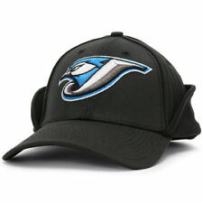 New Era Toronto Blue Jays Black Downflap 39THIRTY Flex Hat - MLB