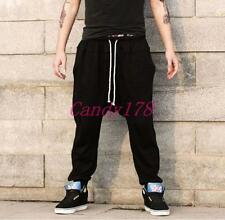 Fashion Mens Casual Harem Pants Baggy Jogger Trousers Hip-hop Dancing Pants Chic