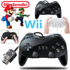 New Classic Controller Pro Gamepad Joypad for Nintendo Wii/Wii U Remote US STOCK