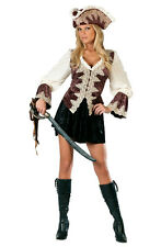 Royal Lady Pirate Classic Deluxe Adult Women's Halloween Fancy Dress Up Costume