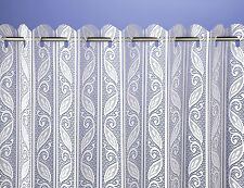 Corsica Lace Net Curtain Blinds Available in Both Ivory and White
