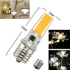 1/5/10x COB 2508 LEDs E17 7W 480lm Led light Dimmable bulb 110/220V White/Warm