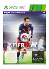 FIFA 16 XBOX 360 BRAND NEW GAME BNIW GIFT SEALED FOOTBALL PAL KINECT