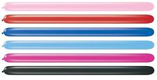 Pack of 20 Qualatex Modelling Balloons - Pearl Colours - 160Q & 260Q