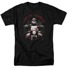 Sons Of Anarchy Ride On Mens Short Sleeve Shirt Black