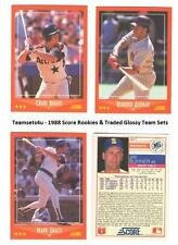 1988 Score Glossy Rookie & Traded Baseball Set ** Pick Your Team **