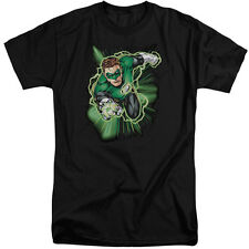Justice League Green Lantern Energy Mens Big and Tall Shirt