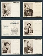 "DINKIE GRIPS 1949 ""M.G.M. STARS"" 7TH SERIES TRADE CARDS - PICK YOUR CARD"