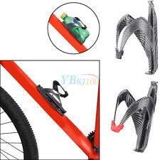 Road MTB Bike Carbon Fiber Bicycle Cycling Water Bottle Holder Cage Holder DY