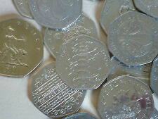 RARE WWF VOTES HASTINGS PETER RABBIT  VARIOUS OTHER COMMEMORATIVE 50p COIN HUNT